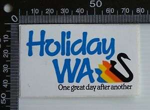 VINTAGE-HOLIDAYS-WA-WESTERN-AUSTRALIA-SOUVENIR-ADVERTISING-PROMO-STICKER