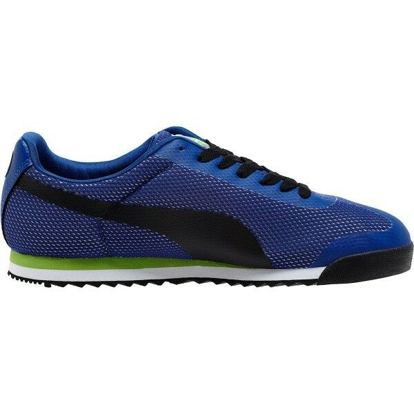 NIB NIB NIB MENS PUMA ROMA MESH Blau schwarz ATHLETIC FASHION CASUAL Turnschuhe schuhe d3ed38