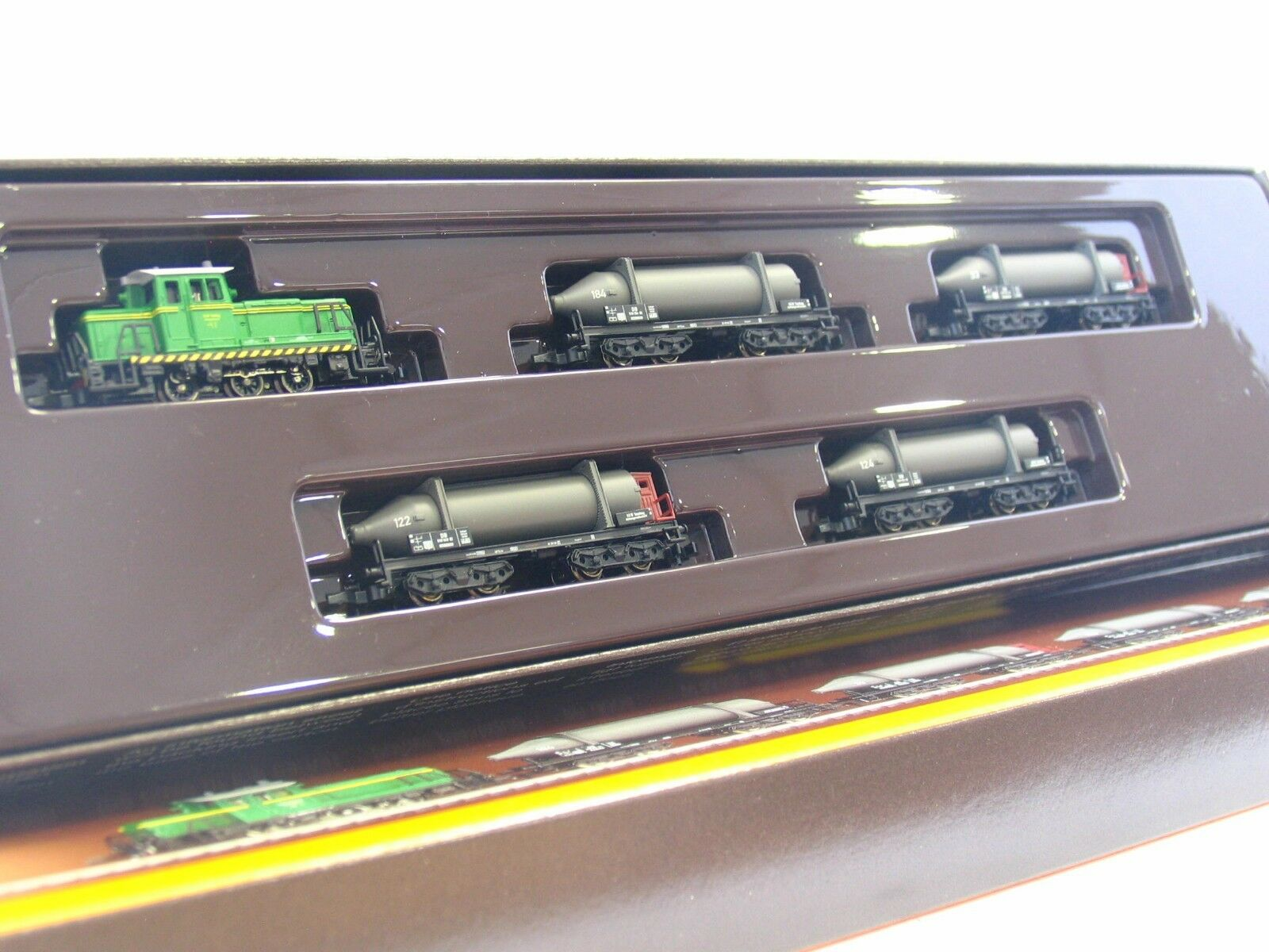 Z 81422 5er beni Wagenset con Diesel SKW consolazione montagna OVP  v1784