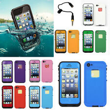 Waterproof New PC Shockproof Dirt Dust Proof Case Cover For iPhone 4 4S 5 5S