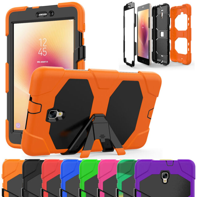 brand new 63e20 6177f Tablet Armor Case + Screen Protector For Samsung Galaxy Tab A 7.0 8.0 9.7  10.1