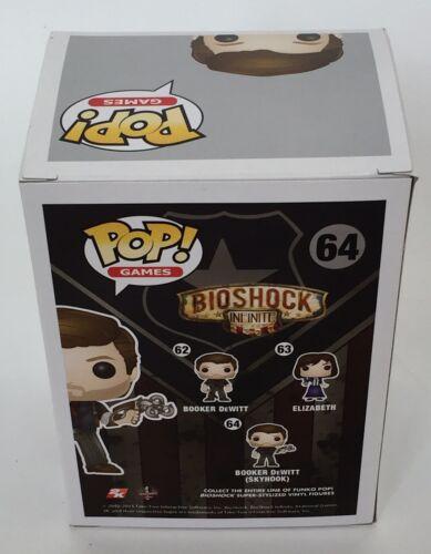 Video Gaming Free Postage Bioshock Infinite Booker DeWitt Skyhook Funko POP