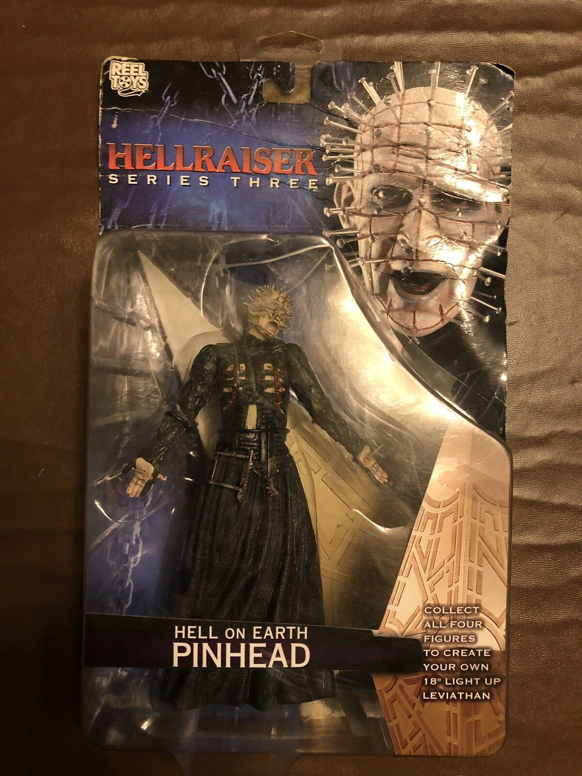 NECA Hellraiser Series 3 Earth Hell On Earth 3 Pinhead  AFHRS3 12 6f60ec