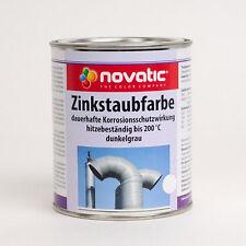 (25,07€/L) Novatic Zinkstaubfarbe Rostschutz Zink  750ml