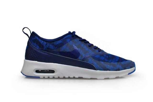 new product 338ff 6db9f Womens Nike Air Max Thea KJCRD - 718646 401 - Deep Poyal Blue Pure Platinum  Trai