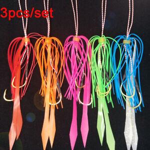 Lifestyle-Material-aus-Gummi-Octopus-Lure-Silicon-Skirt-Wire-Angeln-mit-Fliege