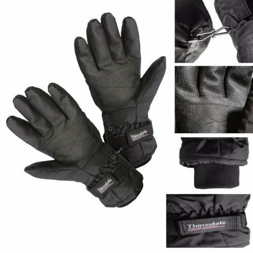 Heated Gloves Battery  for MENS Thermal Winter Electric Fishing Skiing NEW