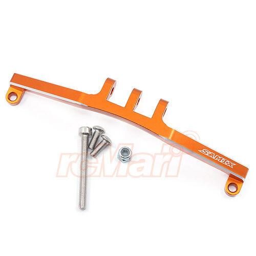 Samix Aluminum Front Rear 4 Link Mount Orange Axial SCX10 AX10 Car #SCX-6019OR