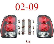 02 09 Trailblazer Tail Light Set, Assembly, W/Circuit Board & Bulbs, Both L&R!!