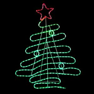 Image Is Loading 120cm Red Amp Green Led Rope Light Christmas