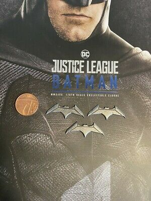 Hot Toys BATMAN JUSTICE LEAGUE MMS455 Batarangs x 3 Loose SCALA 1//6th