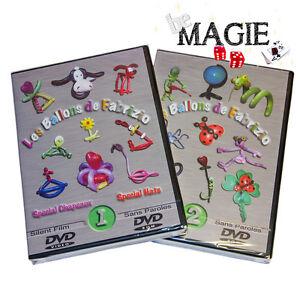 DVD-Les-ballons-de-Fabrizio-Volume-1-amp-2-Sculpture-magie