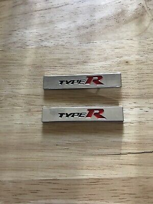 Honda Civic Fn2 Fk2 Fk8 Type R Badge (miniature)x2 | eBay
