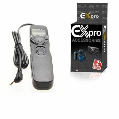 Ex-Pro ® CS-205 Temporizador Remoto disparador de cable de la pantalla LCD Pentax K200D K2000