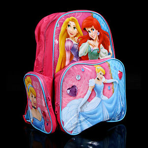 Brand-new-kids-toddlers-Disney-Princess-backpack-school-bag-Free-Shipping