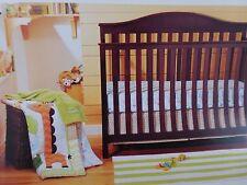 4 pc Circo Jungle Stack Baby Nursery Crib Bedding Set Collection NIP