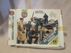 AIRFIX ® 1:72 Luftwaffe Personnel Vintage model kit Soldiers WW2 A00755V