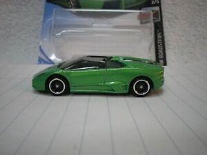 2016 Hot Wheels Green Lamborghini Reventon Roadster Custom Real