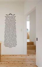 Psalms 91 He That Dwelleth Wall Sticker Mural Vinyl Decals Bible Verse 5ft