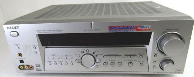 Sony STR-DE885 Digital Audio Video Control Center Digital Cinema Sold As Is