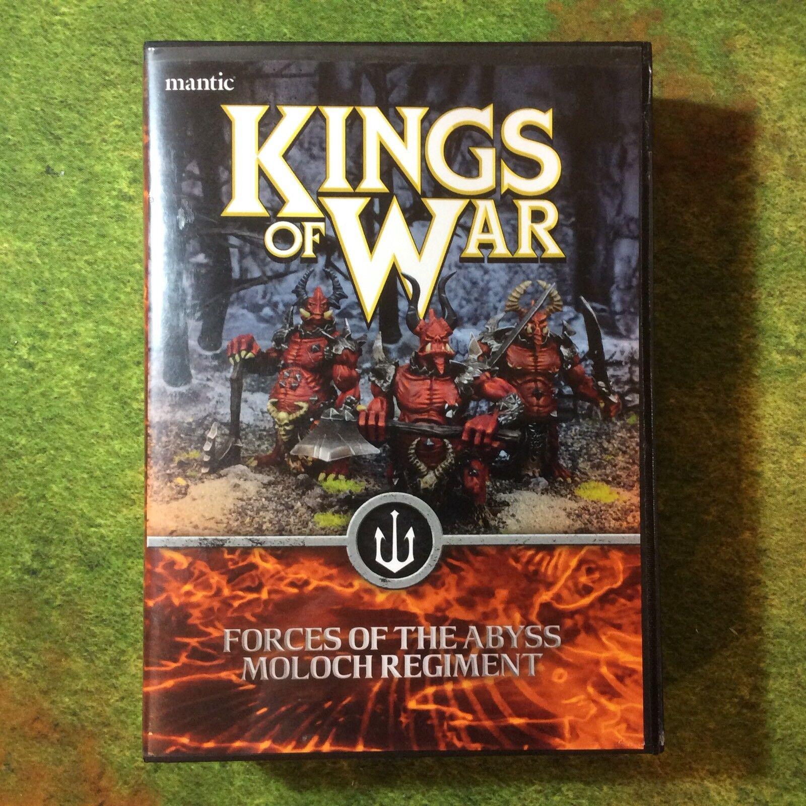 Mantic Games - Kings of War  Moloch Regiment
