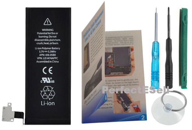 Original OEM Apple iPhone 4S Battery Replacement Parts Repair Fix+Tool+Guide USA