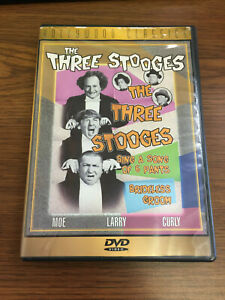 The-Three-Stooges-Sing-a-Song-of-Six-Pants-Brideless-Groom-DVD-1998