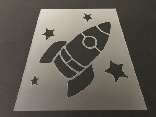 Army Air Force Space Rocket #2 Stencil 10mm or 7mm Thick Jet Rocket-ship