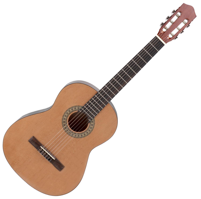 B-WARE 7 8 Klassik Gitarre Konzert Gitarre Akustik Gitarre Holz Natur Beginner