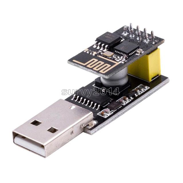 USB to ESP8266 CH340G ESP-01/01S Serial Wifi Adapter Module Development Board