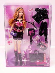Rare Top Model Summer 2008 Titian Steffie Barbie Model Muse M3233 Nrfb 27084576528 Ebay