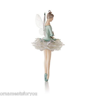 Hallmark 2012 Snowflake Fairy Magic Cord Ornament