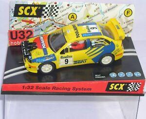 Scalextric 60230 Seat Cordoba Wrc # 9 Montecarlo 1999 Rovanpera-pietilainen