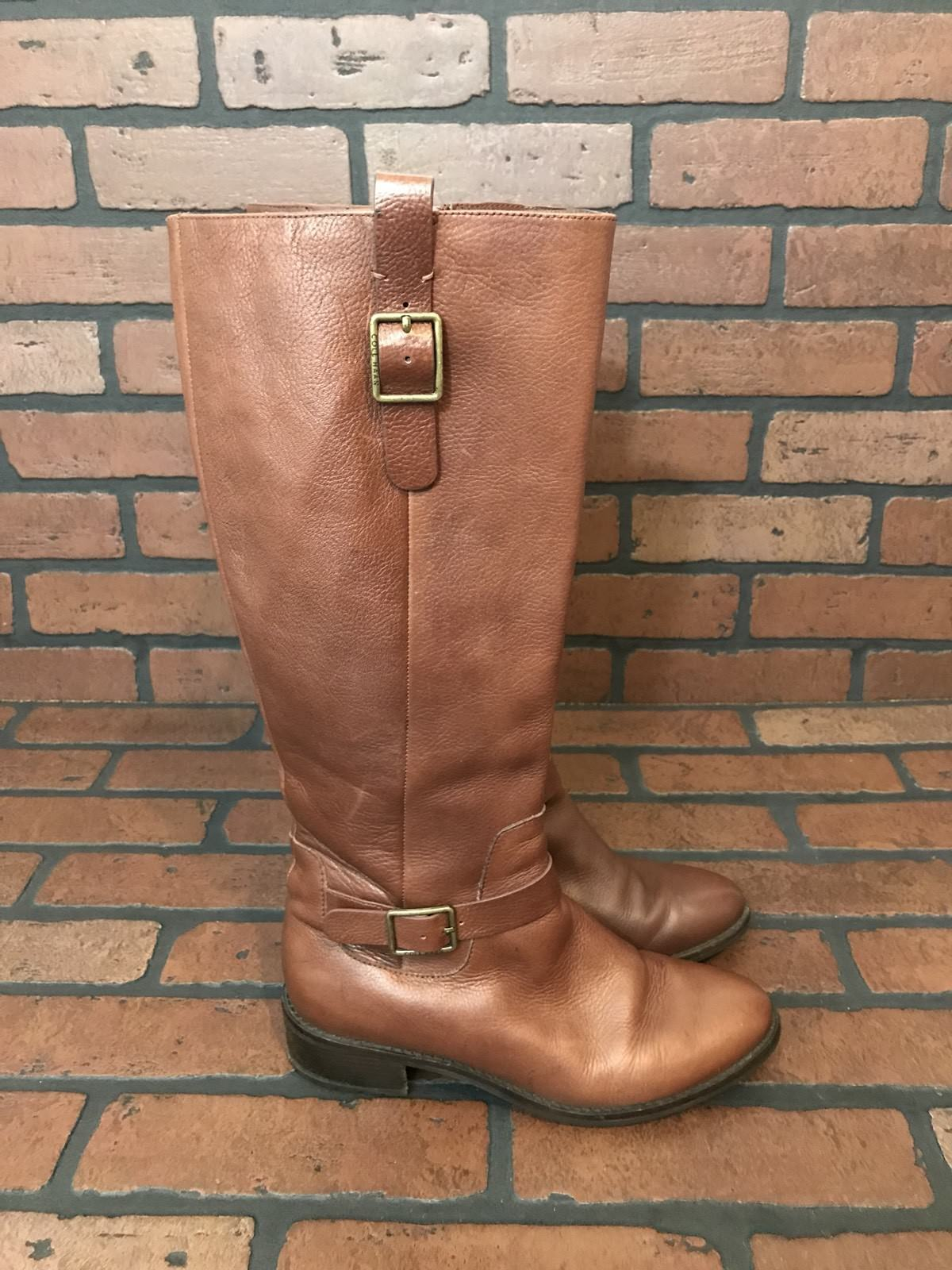 Cole Haan Grand.Os Light Brown Boots 7.5