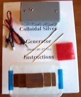 Colloidal Silver Generator Dc-27-ag (handmade)