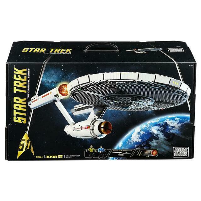 Mega Bloks Star Trek U.S.S Enterprise Ncc-1701 Collector Construction Set