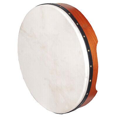 """New Muzikkon Bodhran Drums 16/""""X4/"""" Inside Tunable /& Pretuned Irish Drums"""