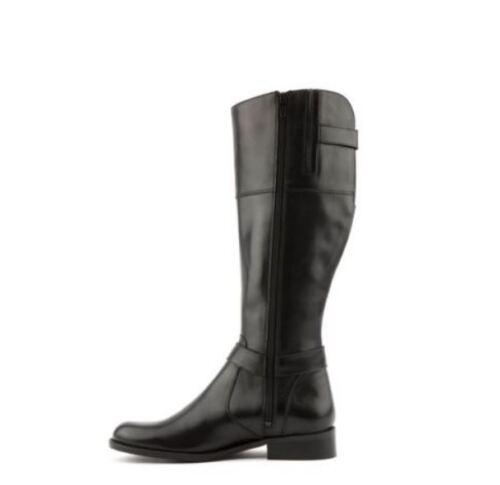 Black Pipkin Uk Jones Ln091 Flat Vv 4 Buckle 02 37 Bootmaker Boots Womens Eu 0aqqUtnI