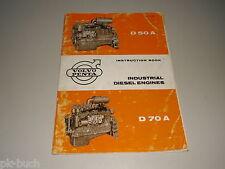 Betriebsanleitung / Instruction Manual Volvo Penta D 50 A / D 70 A Dieselmotor
