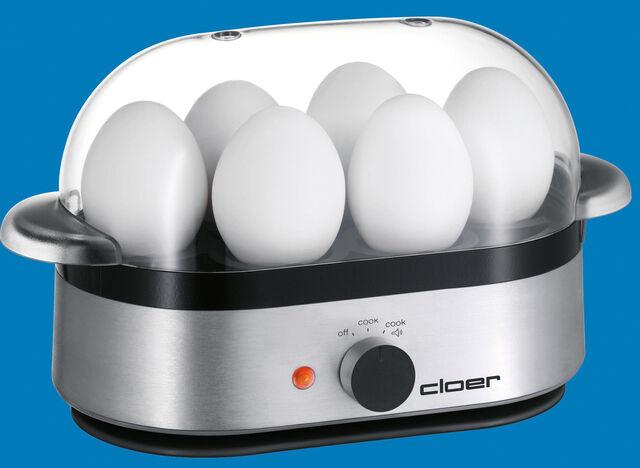 Cloer uova FORNELLO 6020 NERO 3 uova NUOVO
