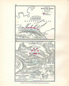 MAP-BATTLE-PLAN-MARSTON-MOOR-JUL-2ND-1644-amp-NASEBY-1645-TROOP-POSITIONS