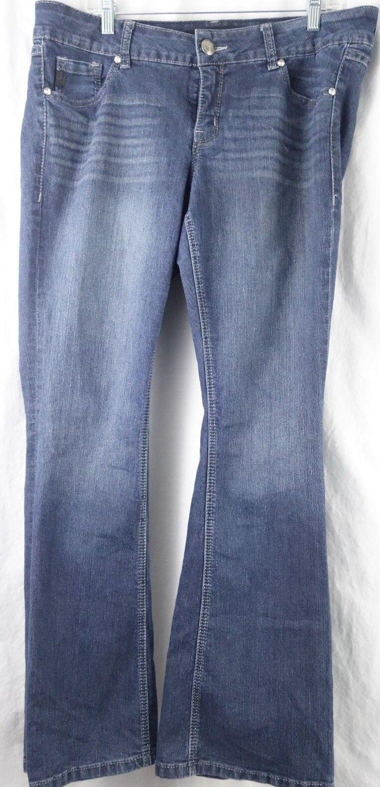 TORRID bluee Denim Jeans Pants Bootcut Women's Plus 16