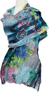Schal-Baumwolle-Seide-scarf-cotton-silk-Digital-Cotton-Silk-Summer-digital-print