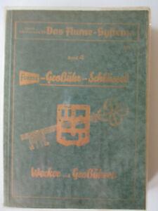 Fachbuch Flume Großuhrschlüssel Wecker Und Großuhren Von 1957 Seien Sie Im Design Neu