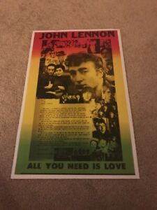 Beatles-Poster-John-Lennon-All-you-need-is-love
