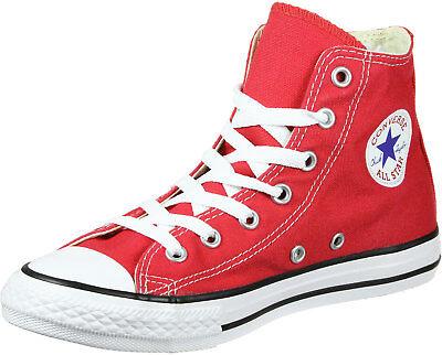 Converse All Star Hi Top Red White Kids New In Box 3J232 100/% Original