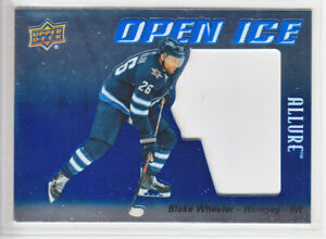 2019-20-UD-ALLURE-BLAKE-WHEELER-OPEN-ICE-OI-BW-Upper-Deck-Jets
