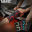 Knee-Support-Compression-Sleeve-Elastic-Nylon-Sport-For-Sports-Irish-Stock thumbnail 2