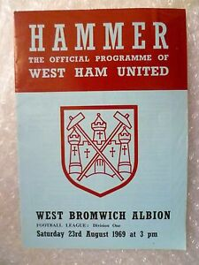 1969-WEST-HAM-UNITED-v-WEST-BROMWICH-ALBION-23rd-Aug-League-Division-One