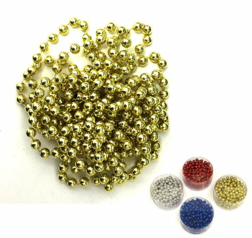 Decorative 9FT Shiny Beads for Christmas Xmas Garland Tree Beads